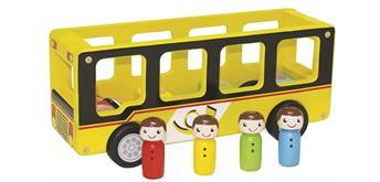 Spielba Postauto mit 4 Passagieren
