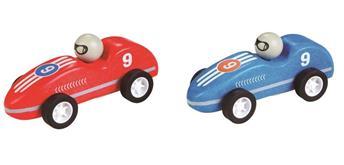 Spielba Rennauto mit Rückzugmotor im 6er Display