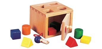 Spielba Sortierbox mit Schlüssel - + 2