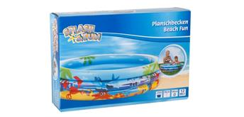 Splash & Fun Planschbecken Beach Fun, 140 cm