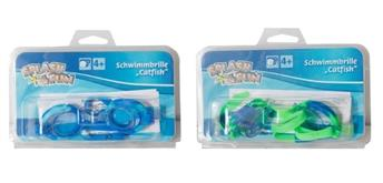 Splash & Fun Schwimmbrille Catfish, Silikon