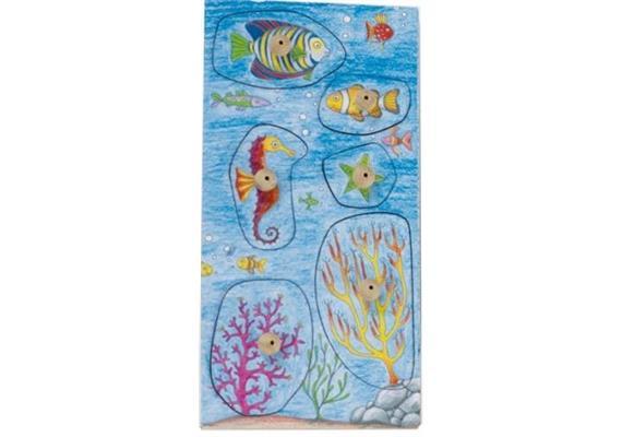 Stempelspiel Freundliche Fische
