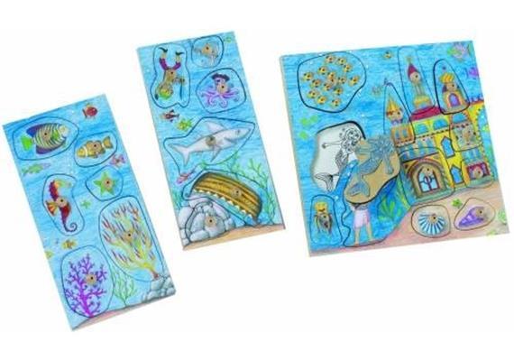 Stempelspiel Unterwasserwelt