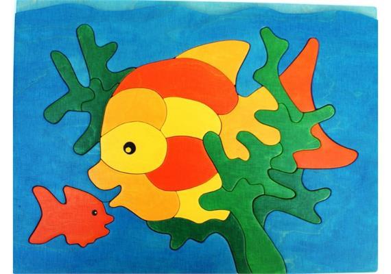 Steppenblüte Fischpuzzle