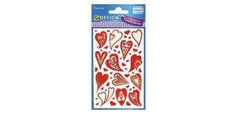 Sticker Effektfolie 57520 - Sagen Sie es mit Liebe