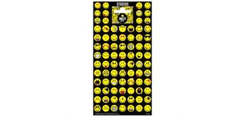 Sticker Smiley 2 10.2 x 20 cm