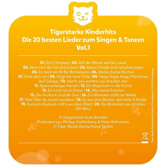tigercard - Die 20 besten Lieder zum Singen & Tanzen