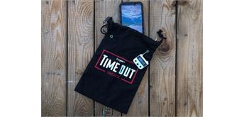 Timeout - Smartphonesafe leer, Schloss schwarz