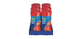 Tinti - Badefarbe rot 10-er Röhrchen