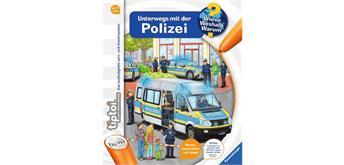 Tiptoi Buch 32922 - Unterwegs mit der Polizei