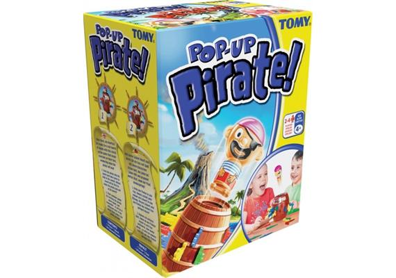 TOMY GAMES Pop Up Pirat