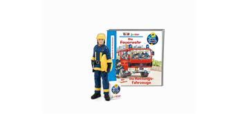 Tonies Wieso Weshalb Warum Junior – Die Feuerwehr/Die Rettungsfahrzeuge