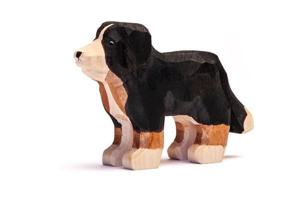 Trauffer Hund Cora, handgeschnitzt, 1949