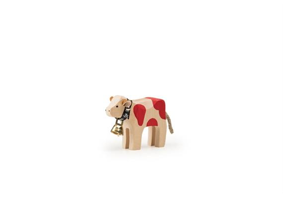 Trauffer Kalb mit Glocke rot 1045