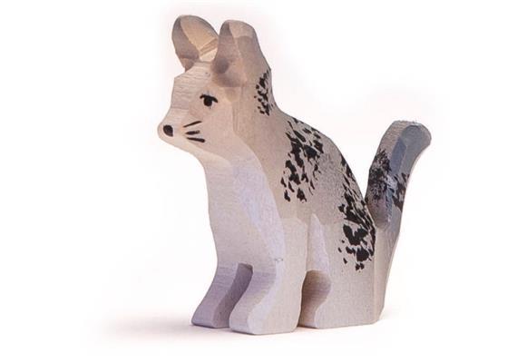 Trauffer Katze Schnurrli, handgeschnitzt, 1951
