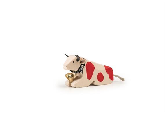 Trauffer Kuh 1 liegend rot 1010