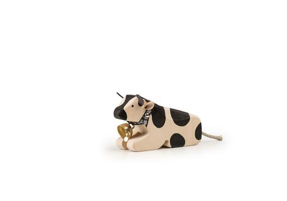 Trauffer Kuh 1 liegend schwarz 1011