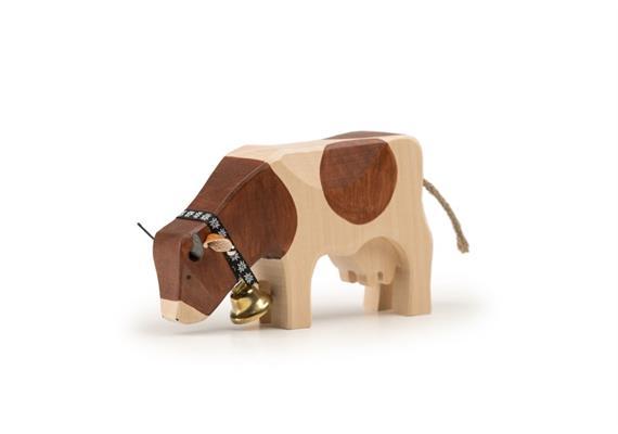 Trauffer Kuh 2 fressend Red-Holstein 1070
