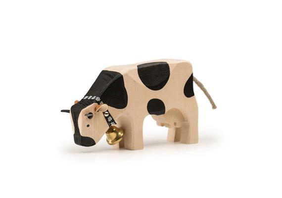 Trauffer Kuh 2 fressend schwarz 1019