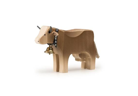 Trauffer Kuh 2 steh braun 1013