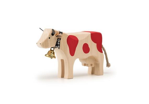 Trauffer Kuh 2 steh rot 1014