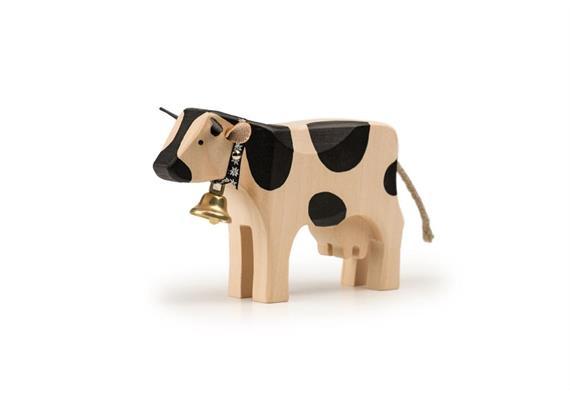 Trauffer Kuh 2 steh schwarz 1015