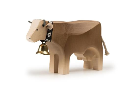 Trauffer Kuh 3 steh braun 1025