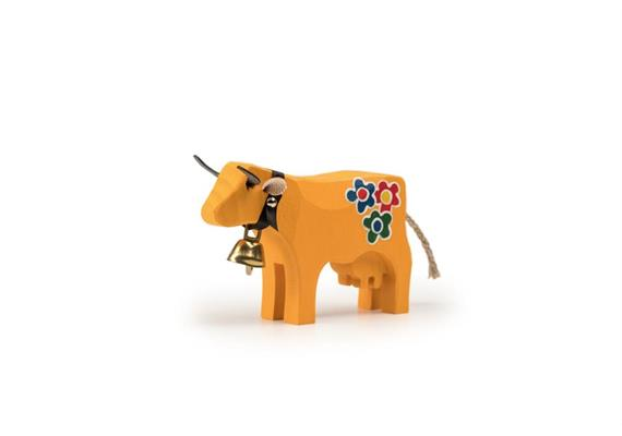 Trauffer Kuh Hippie klein gelb 1099