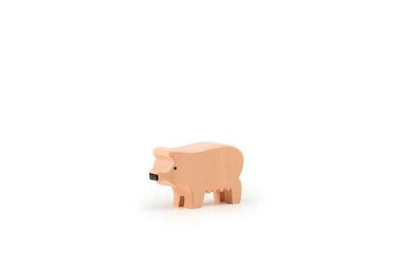 Trauffer Schwein gross rosa 1211