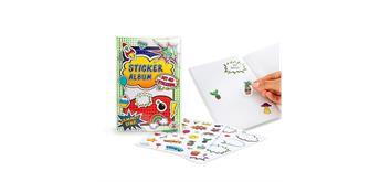 Trendhaus Sticker-Sammelalbum inkl. 40 Stickern