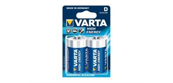 Varta Batterie Mono 2er Varta High Energy