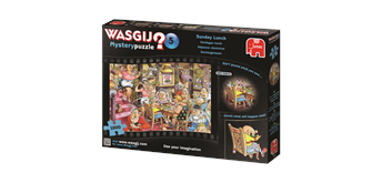 Wasgij Puzzle Retro Mystery 5 - Sonntagsessen
