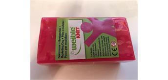Weible Blockknete 250 Gramm, pink