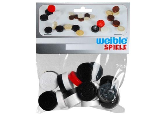 Weible Carrom Spielsteine