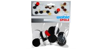 Weible Carrom Spielsteine