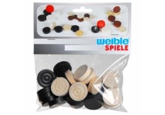Weible Spiele Spielsteine Mühle/Dame