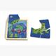 Weizenkorn Minipuzzle Frosch