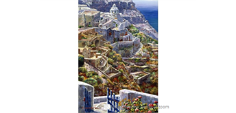 Wentworth Wooden Puzzles -Above Santorini - 250 tlg.