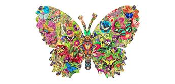 Wentworth Wooden Puzzles - Butterfly Kaleidoscope