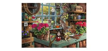 Wentworth Wooden Puzzles - Grandpa's Potting Shed - Micro