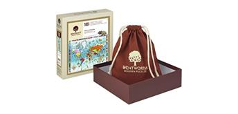 Wentworth Wooden Puzzles - I Know my World Map - 100 tlg.