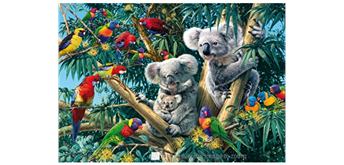 Wentworth Wooden Puzzles -Koala Outback - 250 tlg.