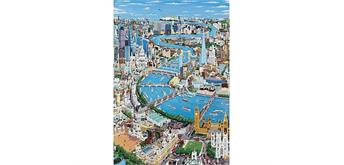 Wentworth Wooden Puzzles - London - The Thames - Micro