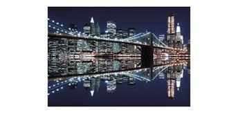 Wentworth Wooden Puzzles - New York City At Night - Maxi