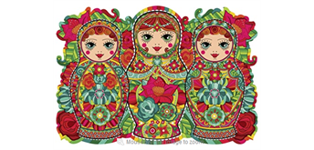 Wentworth Wooden Puzzles -Three Sisters - 250 tlg.