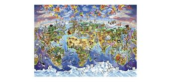 Wentworth Wooden Puzzles - World Wonders - Micro