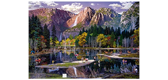 Wentworth Wooden Puzzles - Yosemite-Fall - 1000 tlg.
