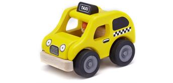 Wonderworld Mini Taxi gelb