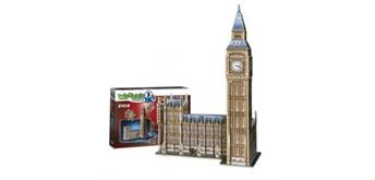 Wrebbit Big Ben & House of Parliament - Queen Elisabeth Tower / 3D-Puzzle