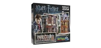 Wrebbit Winkelgasse/Diagon Alley - Harry Potter/ 3D-Puzzle